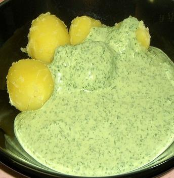 Groene saus