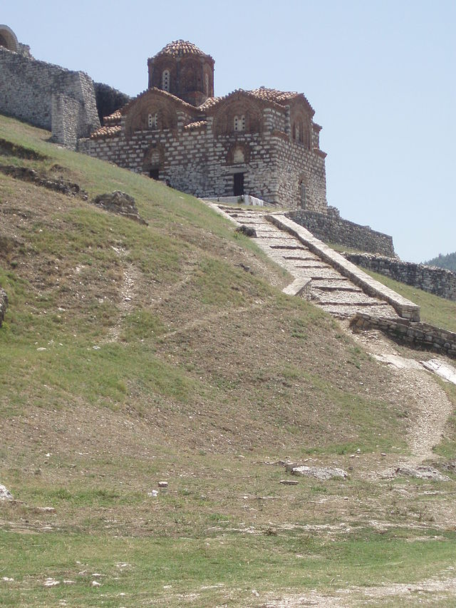 St. Mary van Vlacherna kerk Berat