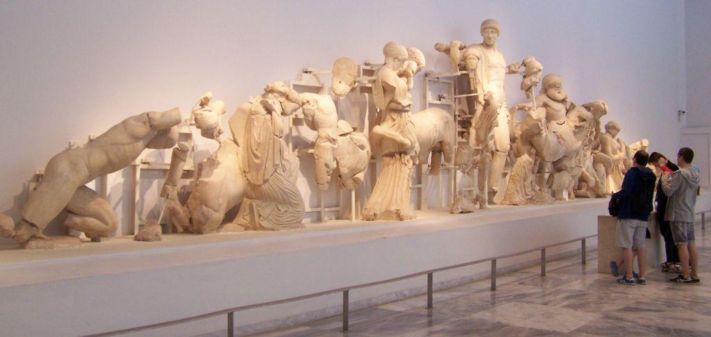westgevel tempel Zeus
