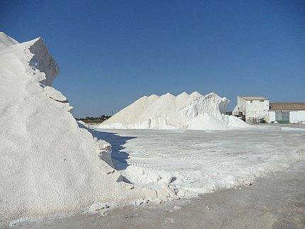 zout en strandHet beschermd natuurgebied Es Trenc