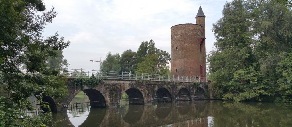 Minnewater park Brugge